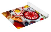 Childhood Toys Yoga Mat