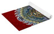 Chinese Masks - Large Masks Series - The Emperor Yoga Mat