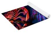 Close-up Of Paper Windmills Yoga Mat