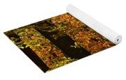 Fall Forest Yoga Mat