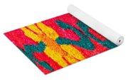Flower Carpets Yoga Mat