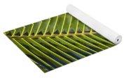 Green Palm Leaf Yoga Mat