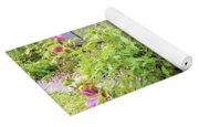 Hibiscus In The Garden Yoga Mat