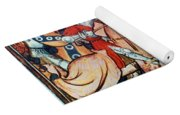 Knights In Tournament Yoga Mat