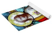Most Sacred Heart Of Jesus Yoga Mat