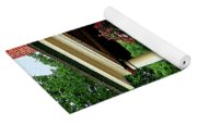 Porch With Hanging Plants Yoga Mat