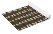 Prickly Poppy Abstract Yoga Mat