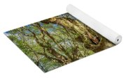 Relaxing Planes Trees Arbor Yoga Mat