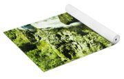 Rocky Mountain Waterfall Yoga Mat