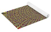 Saguaro Forest Abstract Yoga Mat