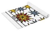 Tarot Card The Stars Yoga Mat
