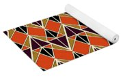 Triangles Pattern Yoga Mat