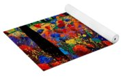 Tuscany Poppies  Yoga Mat