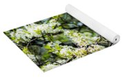 Vermont Apple Blossoms Yoga Mat