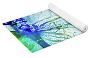 Watercolor Wings Yoga Mat