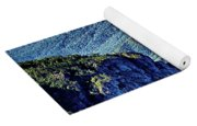 Hawksbill Mountain At Linville Gorge With Table Rock Mountain La Yoga Mat