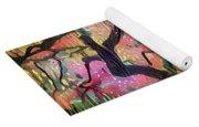 15 Abstract Japanese Maple Tree Yoga Mat