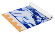 Old Dutch Postage Stamp Yoga Mat