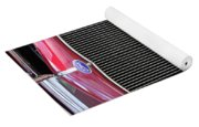 1930 Red Ford Model A-grill-8885 Yoga Mat
