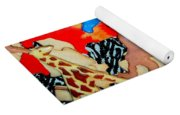 Animal Cookies Yoga Mat