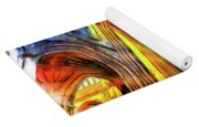 Bath Abbey Sun Rays Art Yoga Mat