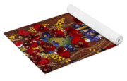 Colourful Abstract Painting Yoga Mat