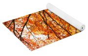 Maple Tree Foliage Yoga Mat