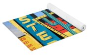 Route 66 - Western Motel Yoga Mat