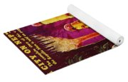 Science Fiction Magazine Yoga Mat