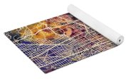 Washington Dc Street Map Yoga Mat