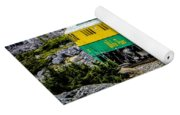 White Pass Mountains In British Columbia Yoga Mat