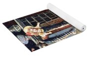 American Christmas Card Yoga Mat