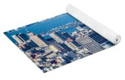 Downtown San Francisco City Street Scenes And Surroundings Yoga Mat