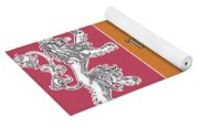 Game Of Thrones. Lannister. Yoga Mat