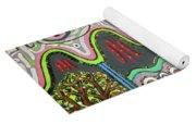 Ilwolobongdo Abstract Landscape Painting2 Yoga Mat