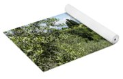 Rolling Green Hills With Trees Yoga Mat