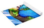 3d Render Of Planet Earth 10 Yoga Mat
