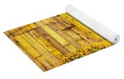 California Golden Poppies Eschscholzia Yoga Mat