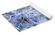 Nashville Tennessee City Map Yoga Mat