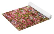 Pink Cherry Tree Yoga Mat
