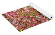Pink Cherry Tree Yoga Mat