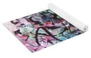 Abstract Expressionsim Art Yoga Mat