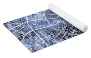 Berlin Germany City Map Yoga Mat