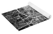 Omaha Nebraska City Map Yoga Mat