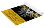 Son Blessing And Shema Israel In Hebrew Yoga Mat