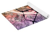 Pittsburgh Pennsylvania Street Map Yoga Mat