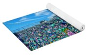 8276- Little Havana Mural Yoga Mat