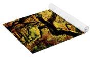 9 Abstract Japanese Maple Tree Yoga Mat