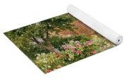 A Cottage Garden Yoga Mat