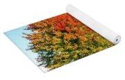 A Country Autumn Yoga Mat